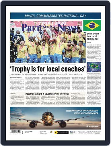 Pretoria News September 7th, 2020 Digital Back Issue Cover