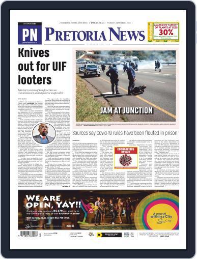 Pretoria News September 3rd, 2020 Digital Back Issue Cover