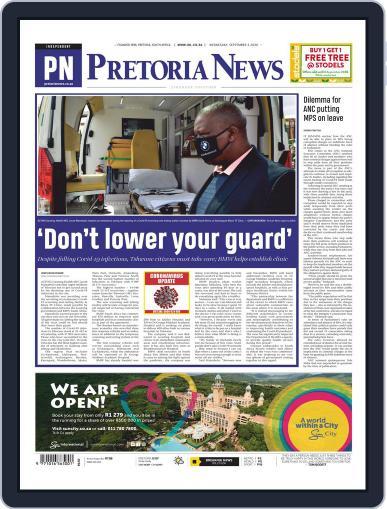Pretoria News September 2nd, 2020 Digital Back Issue Cover