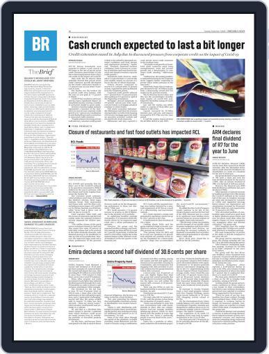 Pretoria News September 1st, 2020 Digital Back Issue Cover