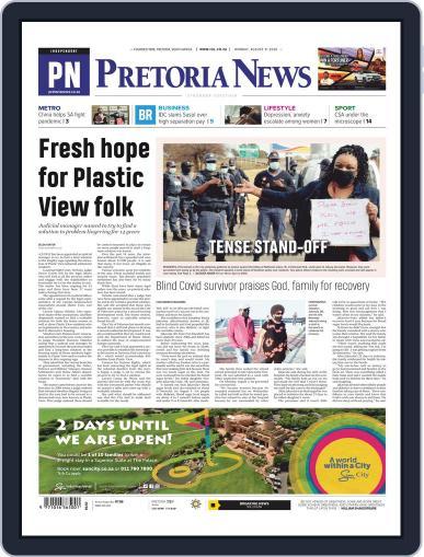 Pretoria News August 31st, 2020 Digital Back Issue Cover
