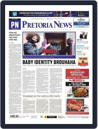 Pretoria News August 28th, 2020 Digital Back Issue Cover
