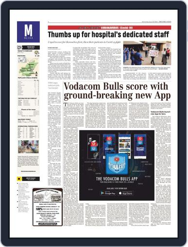 Pretoria News August 26th, 2020 Digital Back Issue Cover