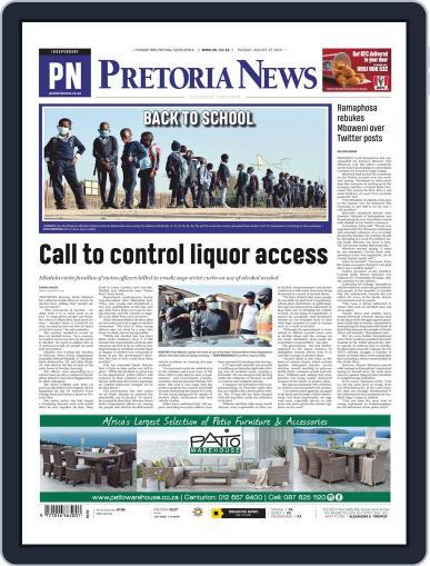 Pretoria News August 25th, 2020 Digital Back Issue Cover