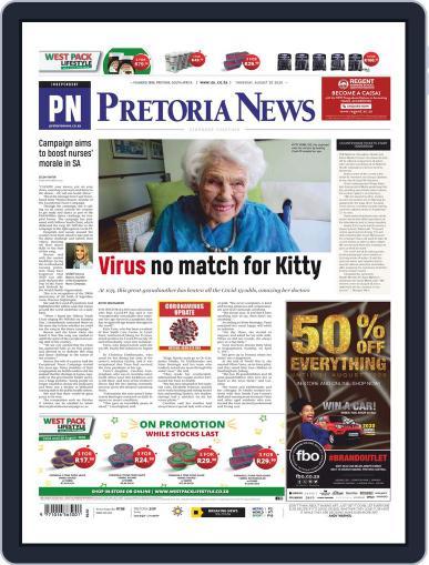 Pretoria News (Digital) August 20th, 2020 Issue Cover