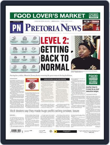 Pretoria News August 18th, 2020 Digital Back Issue Cover
