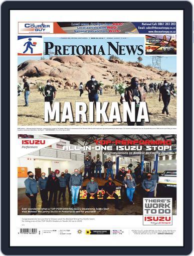 Pretoria News August 17th, 2020 Digital Back Issue Cover