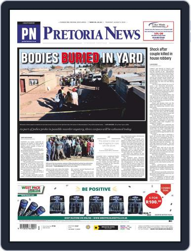 Pretoria News (Digital) August 6th, 2020 Issue Cover