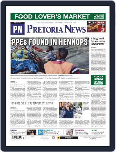Pretoria News (Digital) August 4th, 2020 Issue Cover