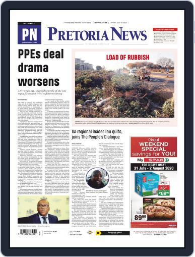Pretoria News July 31st, 2020 Digital Back Issue Cover
