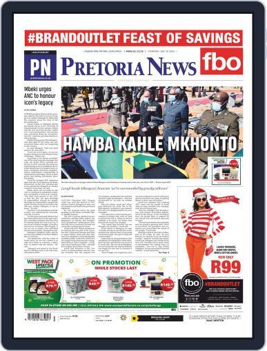 Pretoria News July 30th, 2020 Digital Back Issue Cover