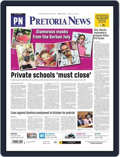Pretoria News July 28th, 2020 Digital Back Issue Cover