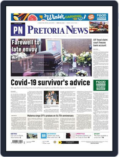 Pretoria News July 27th, 2020 Digital Back Issue Cover
