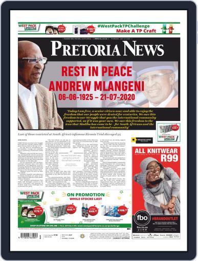 Pretoria News July 23rd, 2020 Digital Back Issue Cover