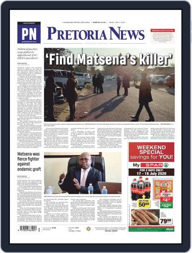 Pretoria News July 17th, 2020 Digital Back Issue Cover