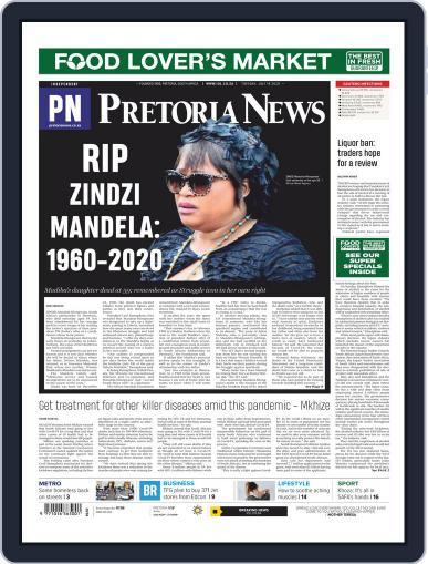 Pretoria News July 14th, 2020 Digital Back Issue Cover