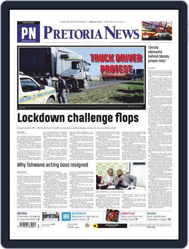 Pretoria News July 8th, 2020 Digital Back Issue Cover