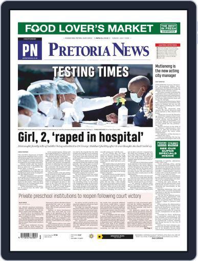 Pretoria News July 7th, 2020 Digital Back Issue Cover