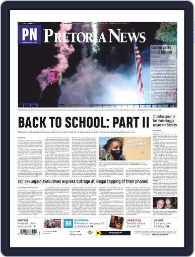 Pretoria News (Digital) July 6th, 2020 Issue Cover