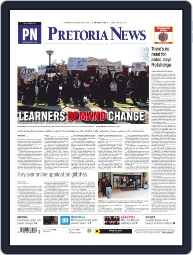 Pretoria News June 26th, 2020 Digital Back Issue Cover