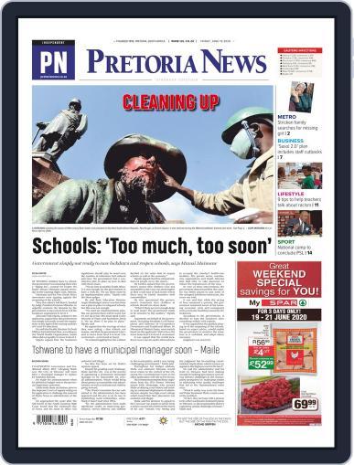 Pretoria News June 19th, 2020 Digital Back Issue Cover