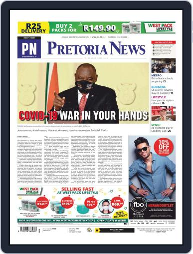 Pretoria News June 18th, 2020 Digital Back Issue Cover