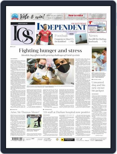 Independent on Saturday (Digital) July 18th, 2020 Issue Cover
