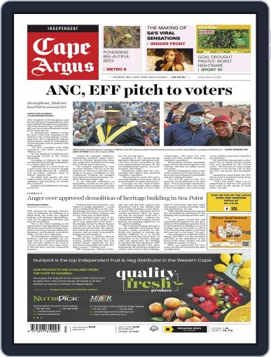 Cape Argus Magazine (Digital) October 22nd, 2021 Issue Cover