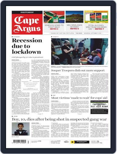 Cape Argus September 9th, 2020 Digital Back Issue Cover