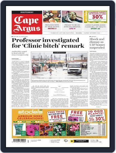 Cape Argus September 3rd, 2020 Digital Back Issue Cover