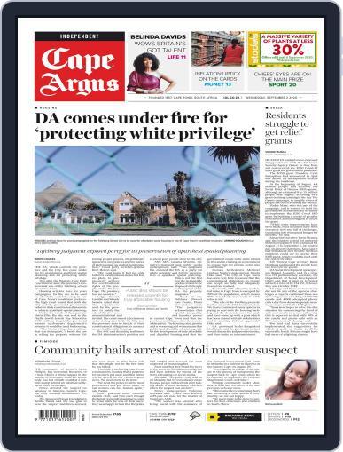 Cape Argus September 2nd, 2020 Digital Back Issue Cover