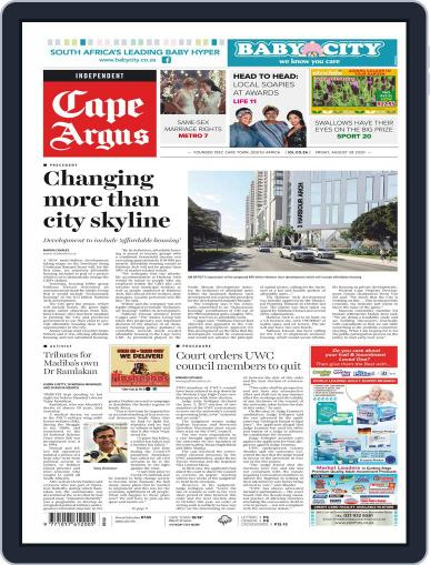 Cape Argus August 28th, 2020 Digital Back Issue Cover