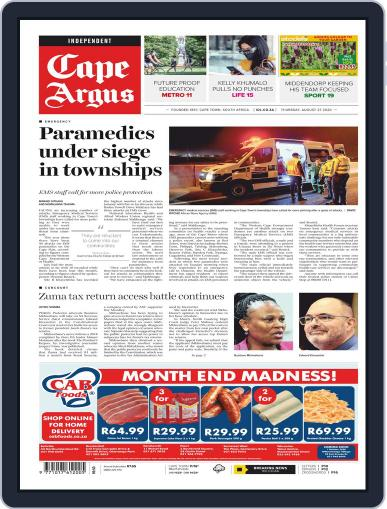 Cape Argus (Digital) August 27th, 2020 Issue Cover