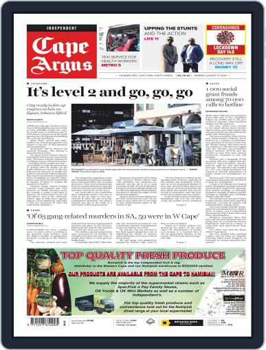 Cape Argus August 17th, 2020 Digital Back Issue Cover
