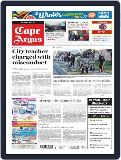 Cape Argus (Digital) July 28th, 2020 Issue Cover
