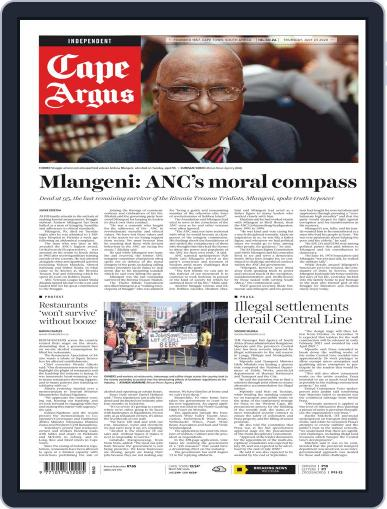 Cape Argus (Digital) July 23rd, 2020 Issue Cover
