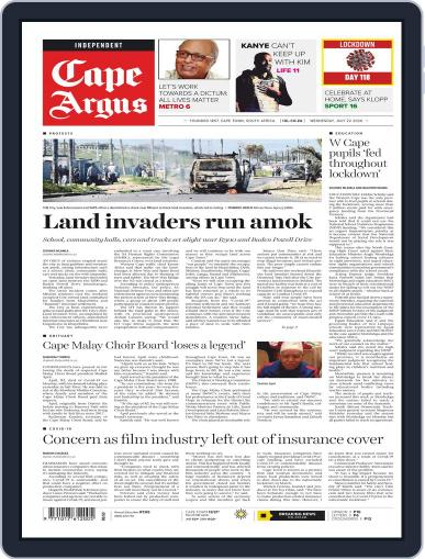 Cape Argus (Digital) July 22nd, 2020 Issue Cover