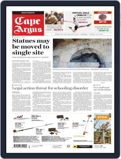 Cape Argus July 16th, 2020 Digital Back Issue Cover