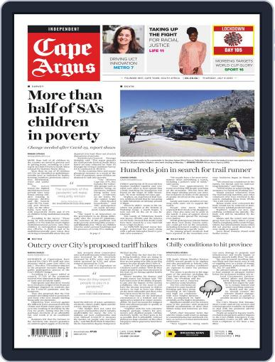 Cape Argus July 9th, 2020 Digital Back Issue Cover