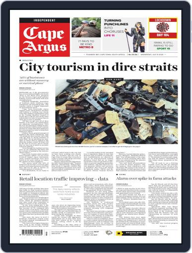 Cape Argus July 8th, 2020 Digital Back Issue Cover