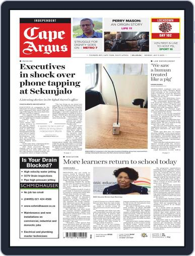 Cape Argus July 6th, 2020 Digital Back Issue Cover