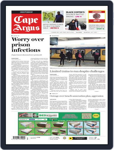 Cape Argus July 1st, 2020 Digital Back Issue Cover