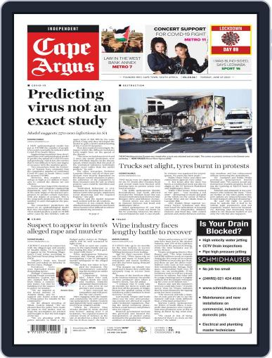 Cape Argus (Digital) June 23rd, 2020 Issue Cover