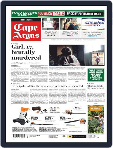 Cape Argus (Digital) June 22nd, 2020 Issue Cover