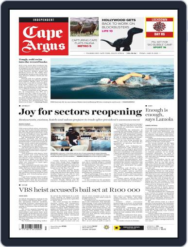 Cape Argus June 19th, 2020 Digital Back Issue Cover