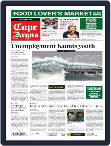 Cape Argus June 15th, 2020 Digital Back Issue Cover