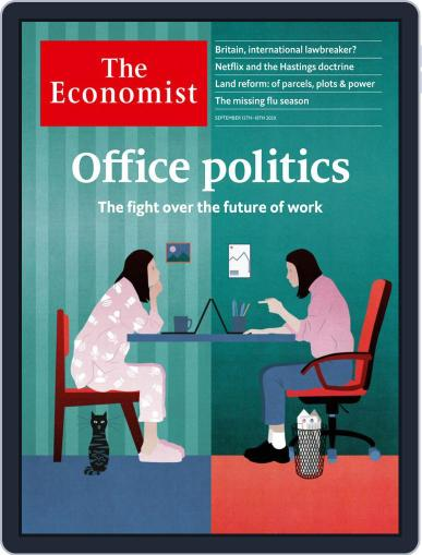 The Economist Continental Europe Edition September 12th, 2020 Digital Back Issue Cover
