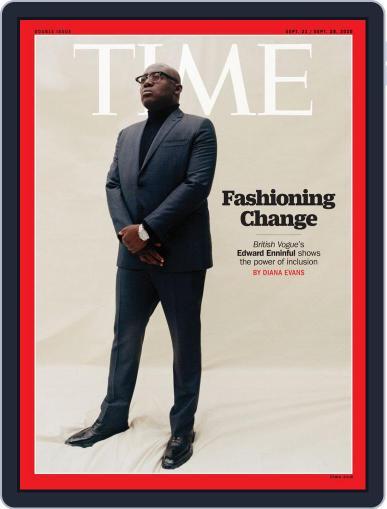 Time Magazine International (Digital) September 21st, 2020 Issue Cover
