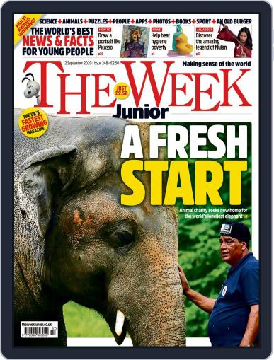 The Week Junior (Digital) September 12th, 2020 Issue Cover