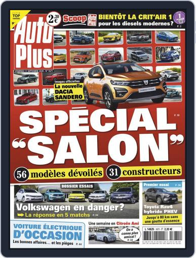 Auto Plus France September 11th, 2020 Digital Back Issue Cover